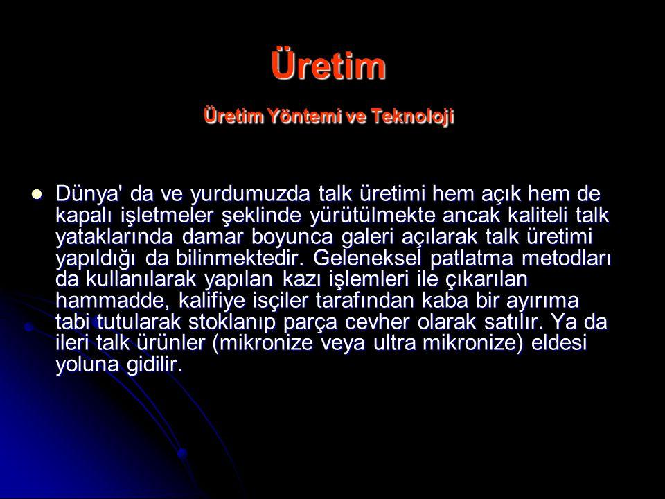 Üretim Üretim Yöntemi ve Teknoloji