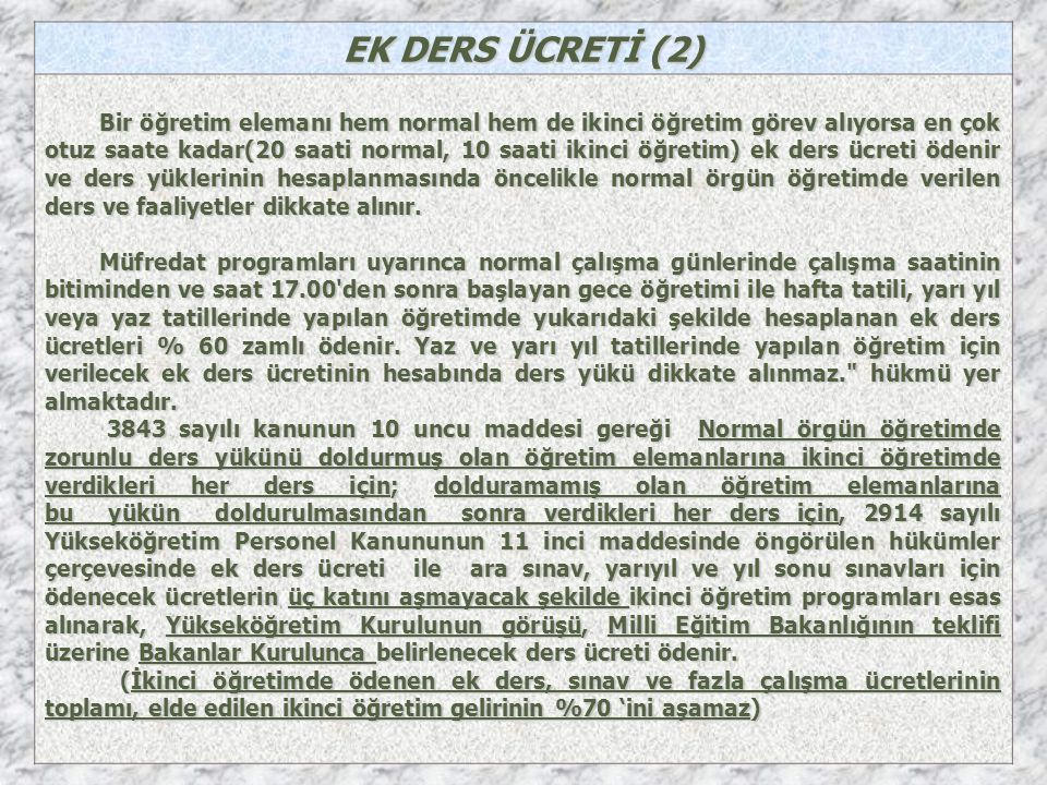 EK DERS ÜCRETİ (2)