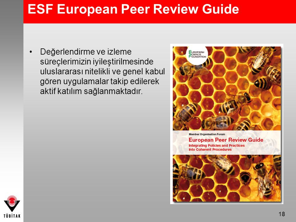 ESF European Peer Review Guide