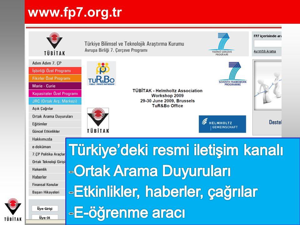 Türkiye'deki resmi iletişim kanalı Ortak Arama Duyuruları