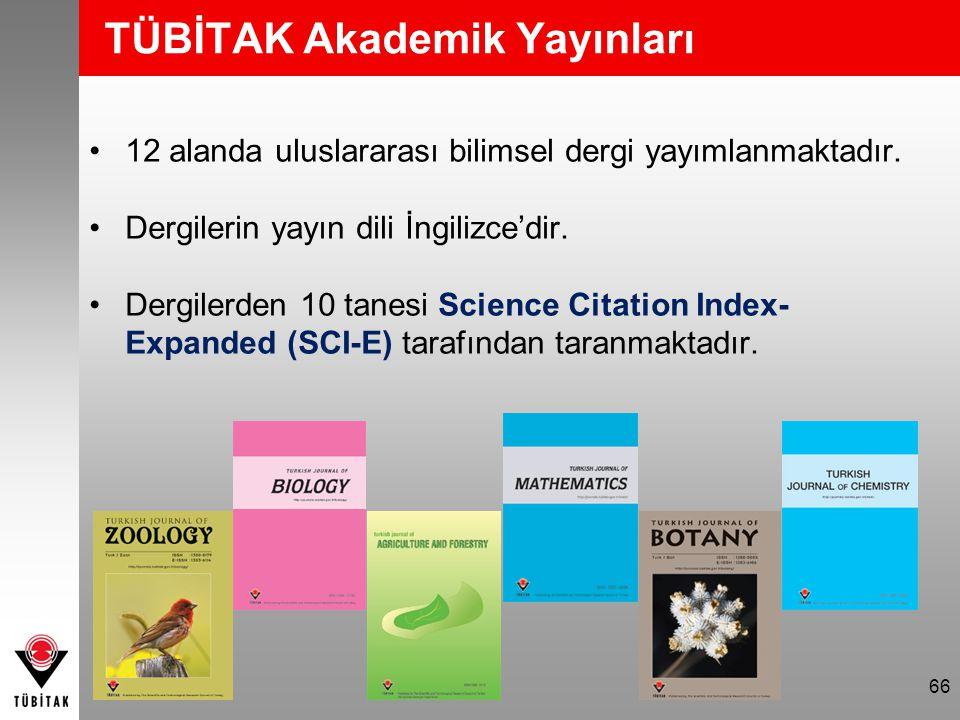 TÜBİTAK Akademik Yayınları