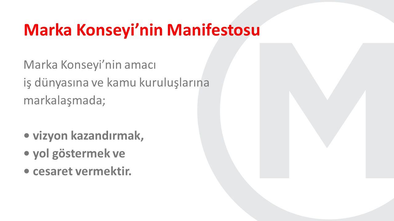 Marka Konseyi'nin Manifestosu