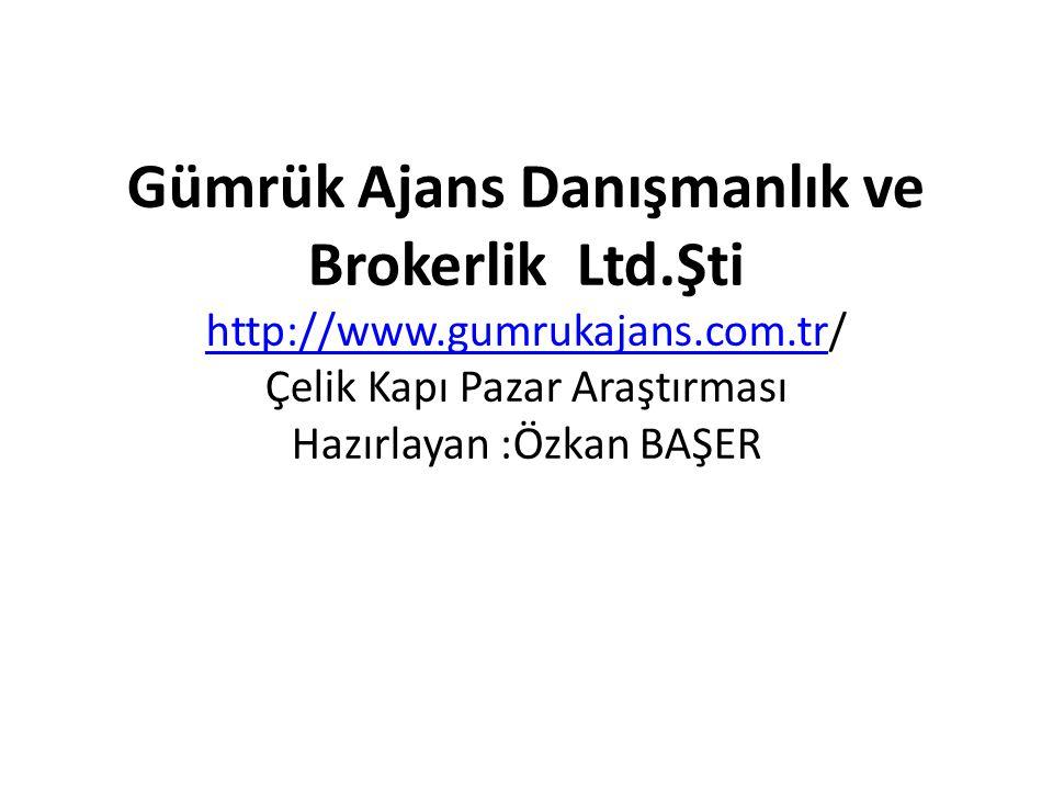 Gümrük Ajans Danışmanlık ve Brokerlik Ltd. Şti http://www. gumrukajans