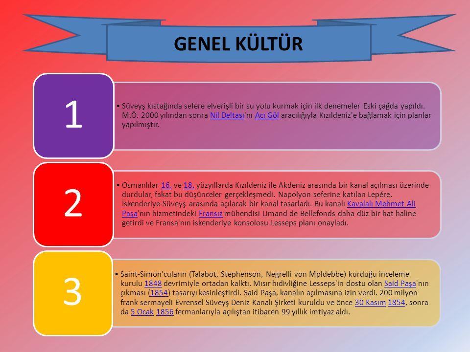 GENEL KÜLTÜR 1.
