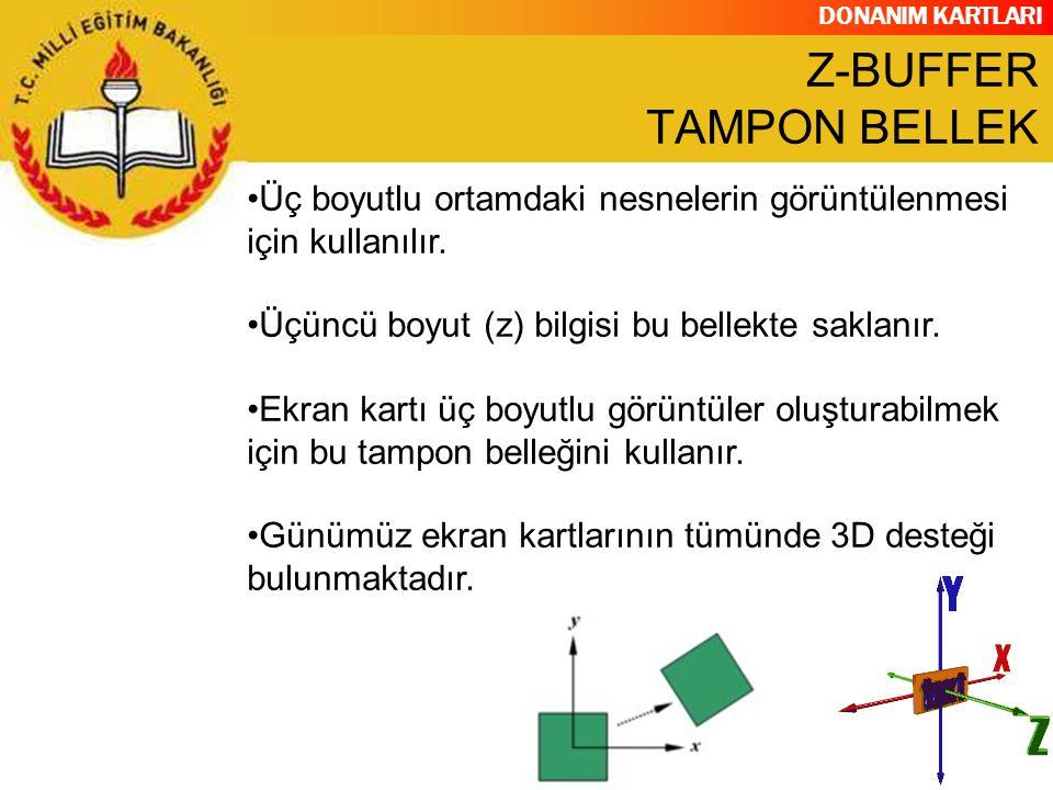 Z-BUFFER TAMPON BELLEK