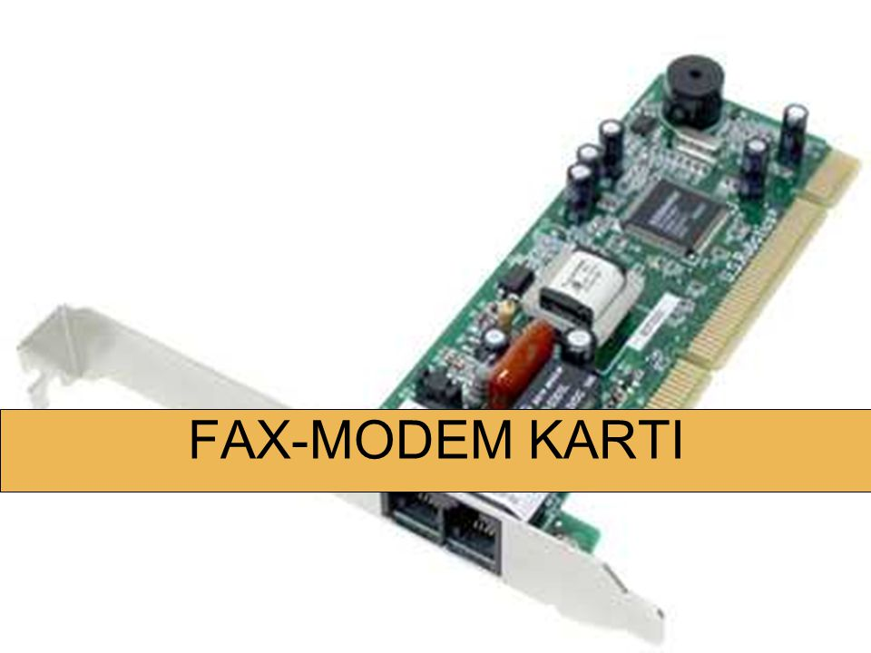 FAX-MODEM KARTI