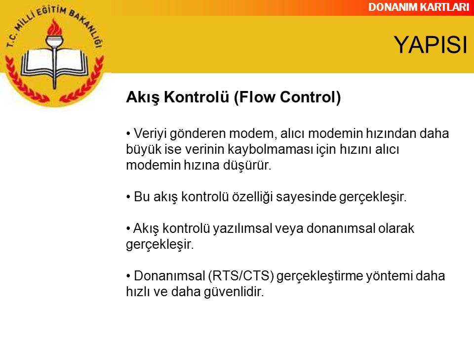 YAPISI Akış Kontrolü (Flow Control)