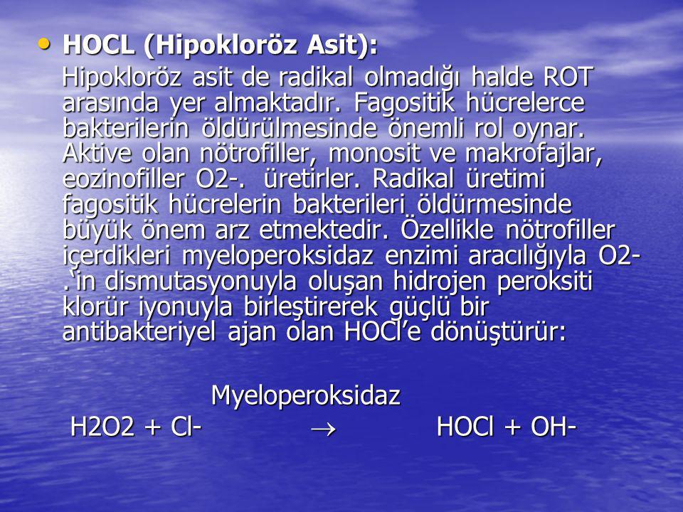 HOCL (Hipokloröz Asit):
