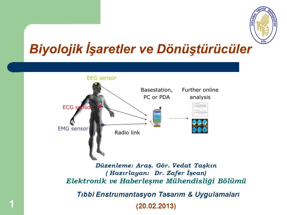 Biyolojik İşaretler ve Dönüştürücüler