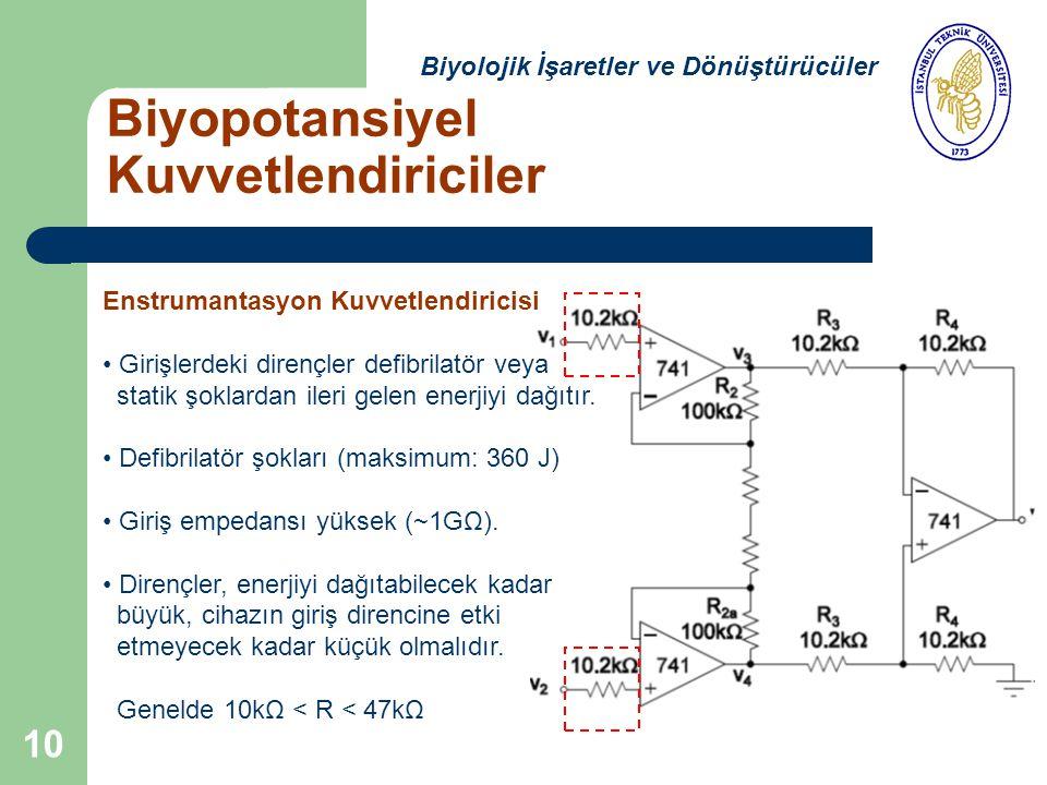 Biyopotansiyel Kuvvetlendiriciler