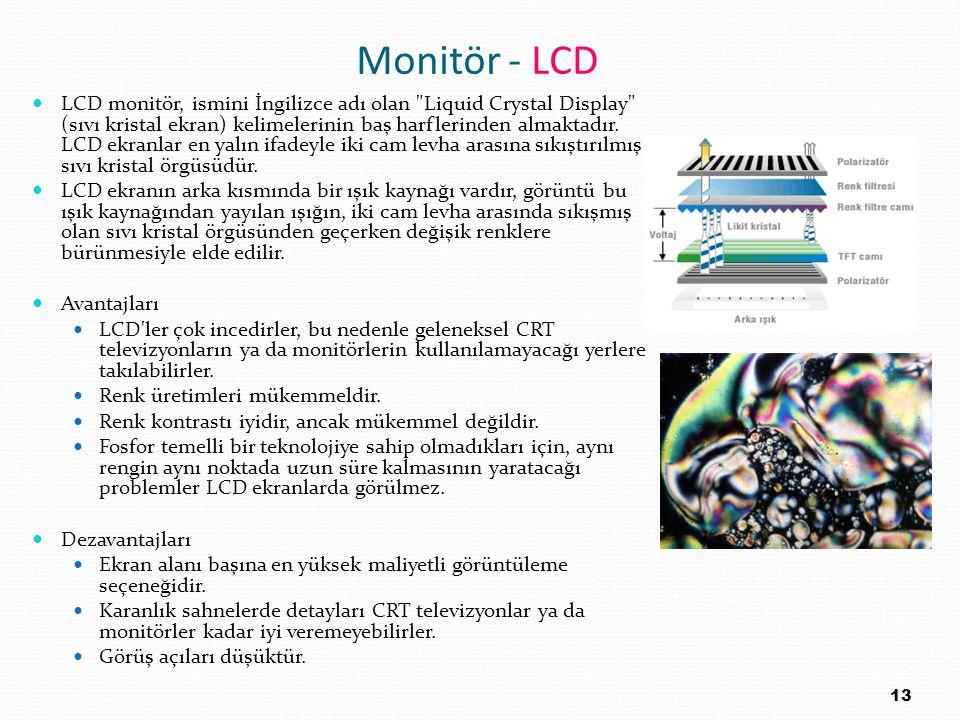 Monitör - LCD