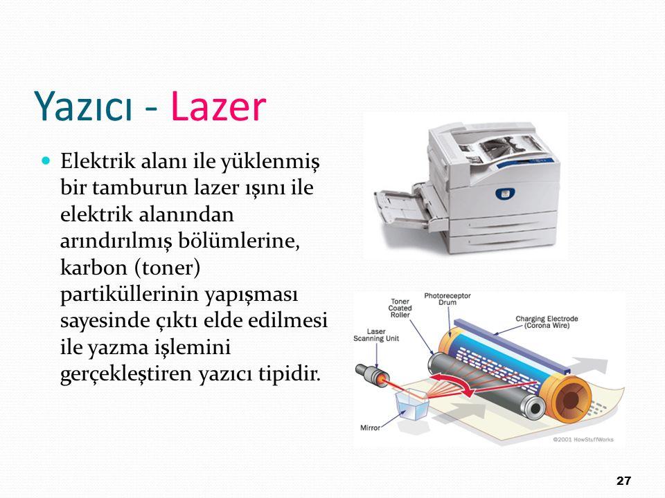 Yazıcı - Lazer