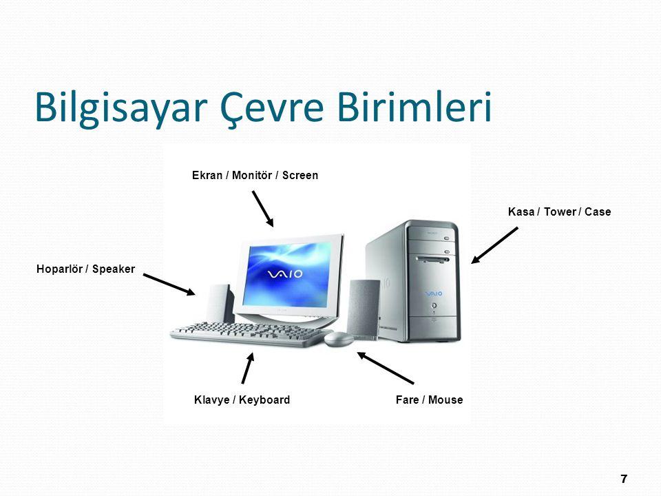 Bilgisayar Çevre Birimleri