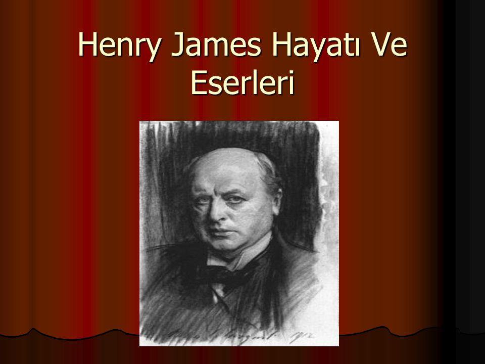 Henry James Hayatı Ve Eserleri
