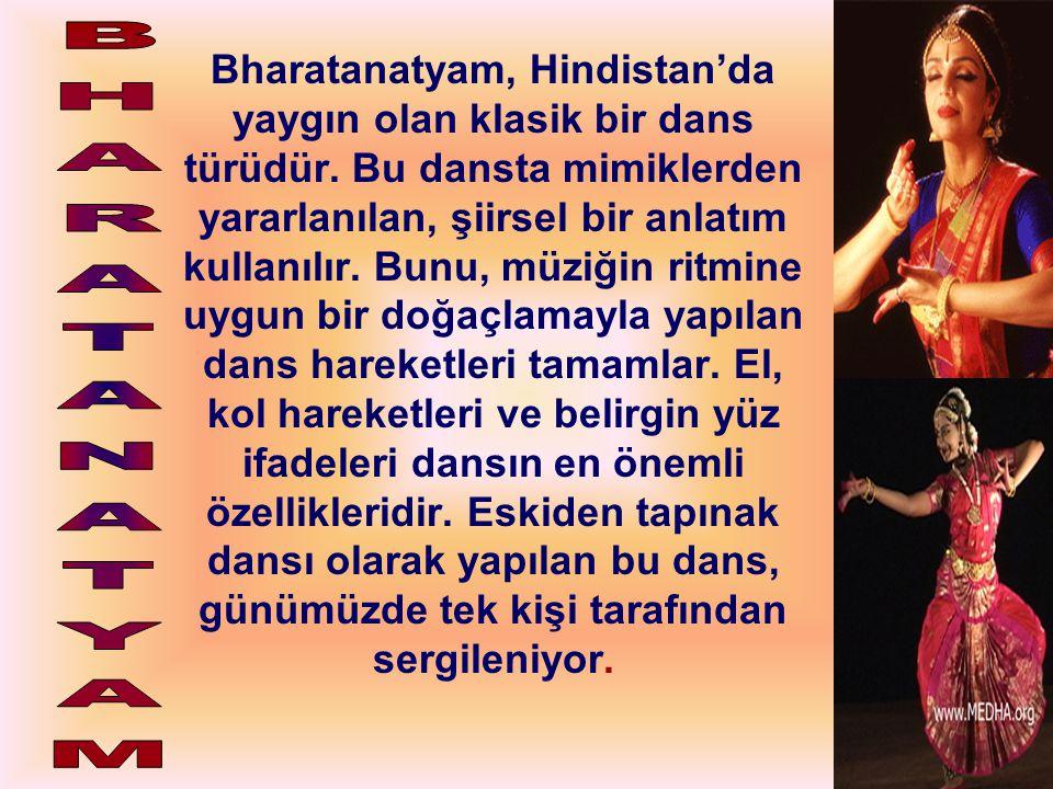 Bharatanatyam, Hindistan'da yaygın olan klasik bir dans türüdür