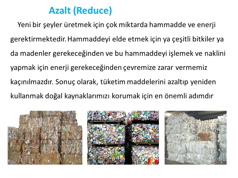 Azalt (Reduce)