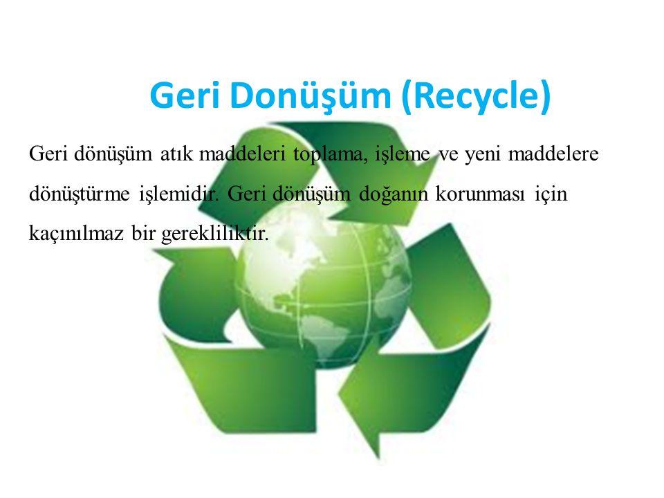 Geri Donüşüm (Recycle)