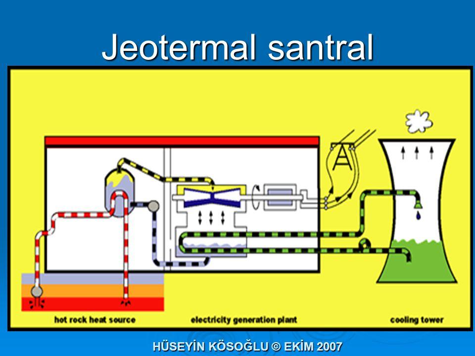 Jeotermal santral HÜSEYİN KÖSOĞLU © EKİM 2007