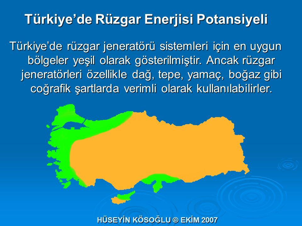 Türkiye'de Rüzgar Enerjisi Potansiyeli