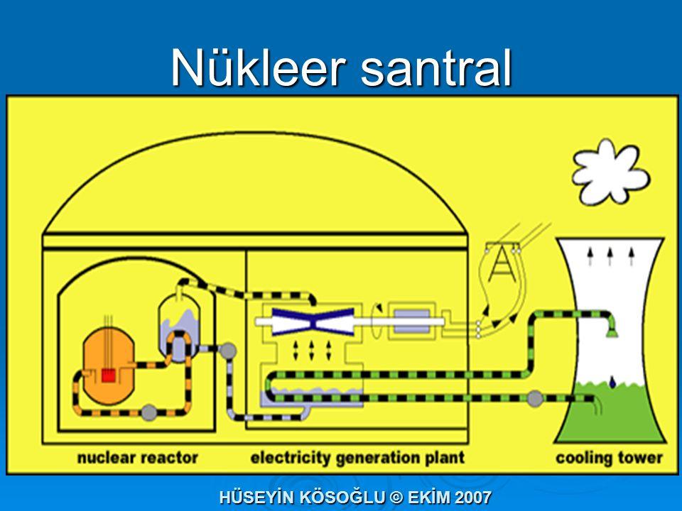 Nükleer santral HÜSEYİN KÖSOĞLU © EKİM 2007
