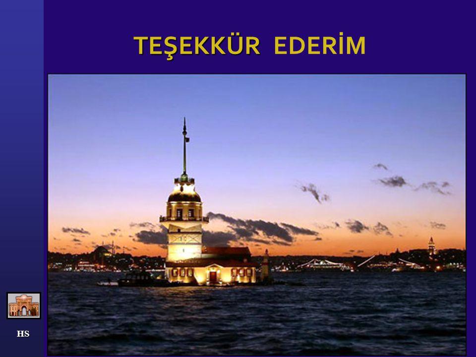 TEŞEKKÜR EDERİM HS