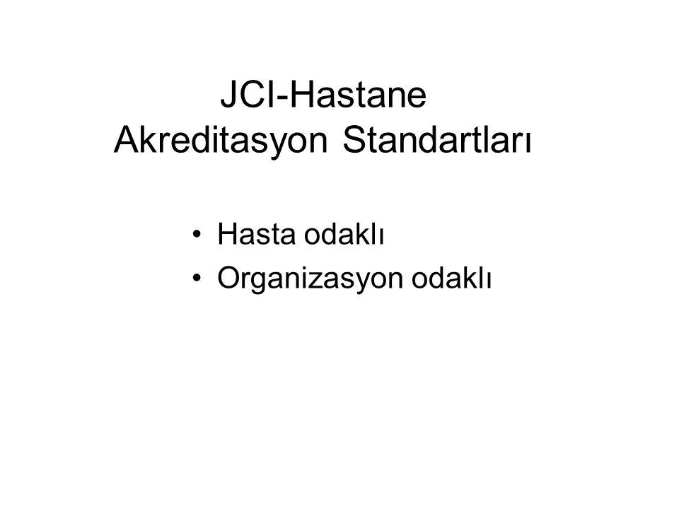 JCI-Hastane Akreditasyon Standartları
