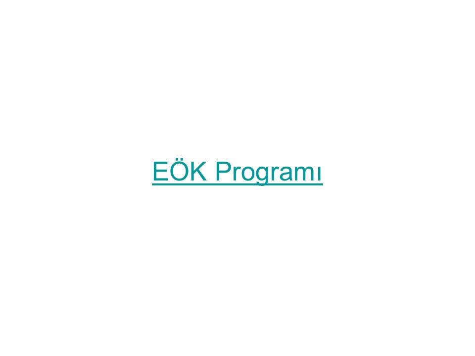 EÖK Programı