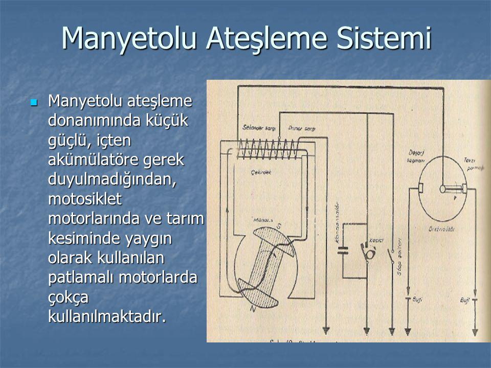 Manyetolu Ateşleme Sistemi