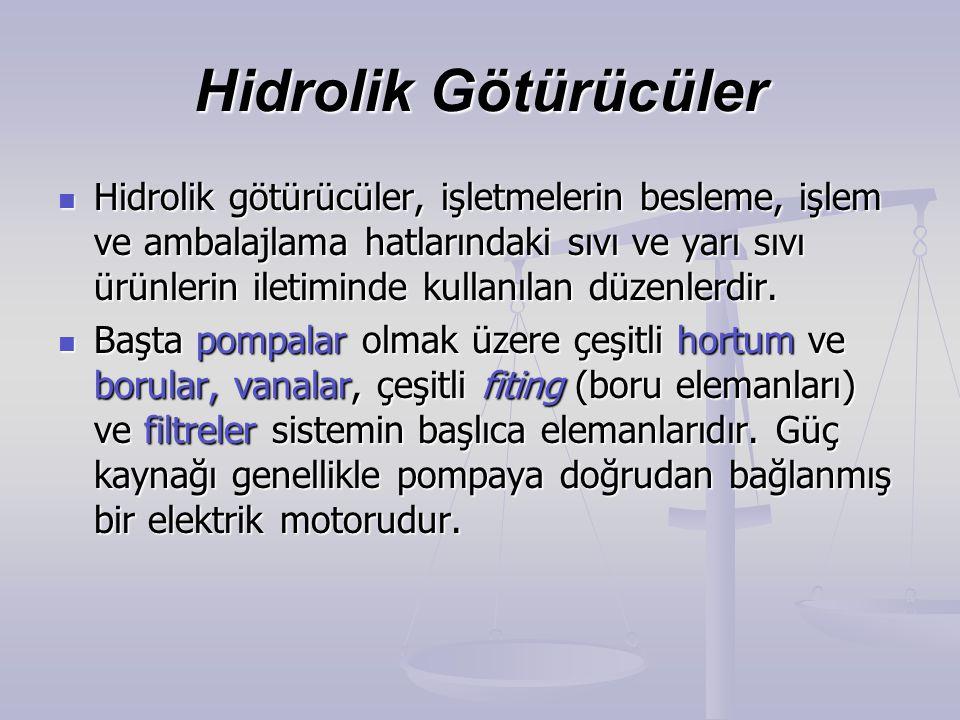 Hidrolik Götürücüler