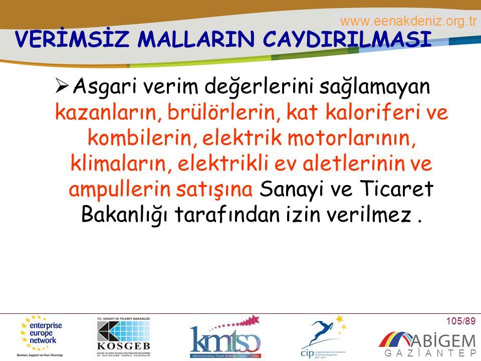 VERİMSİZ MALLARIN CAYDIRILMASI