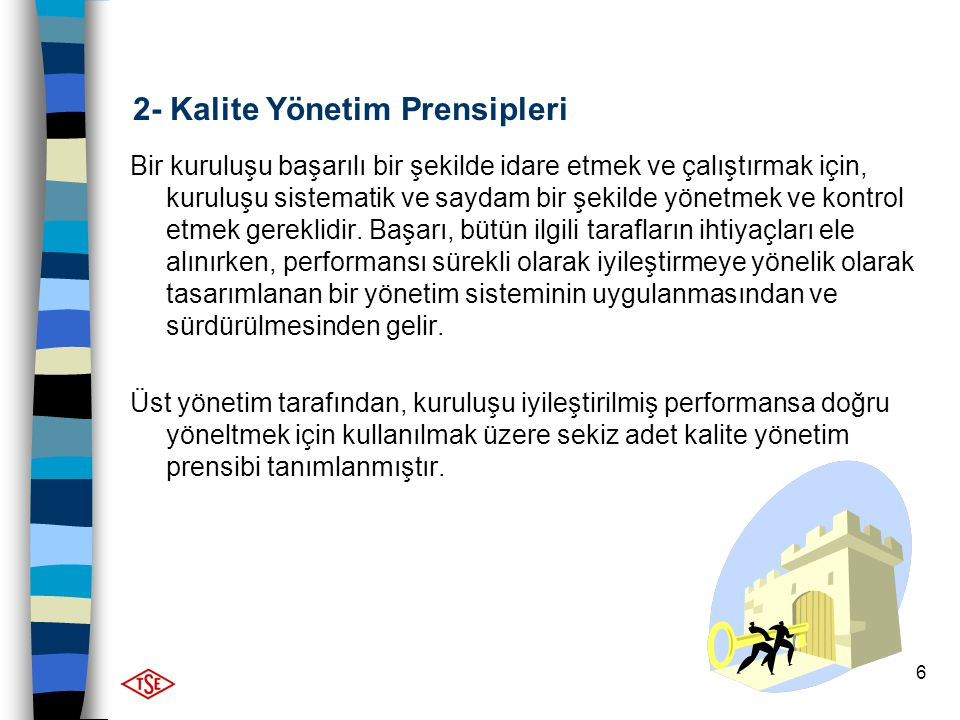 2- Kalite Yönetim Prensipleri