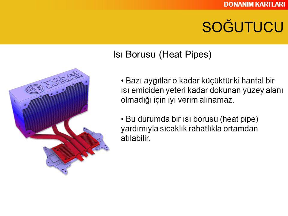SOĞUTUCU Isı Borusu (Heat Pipes)