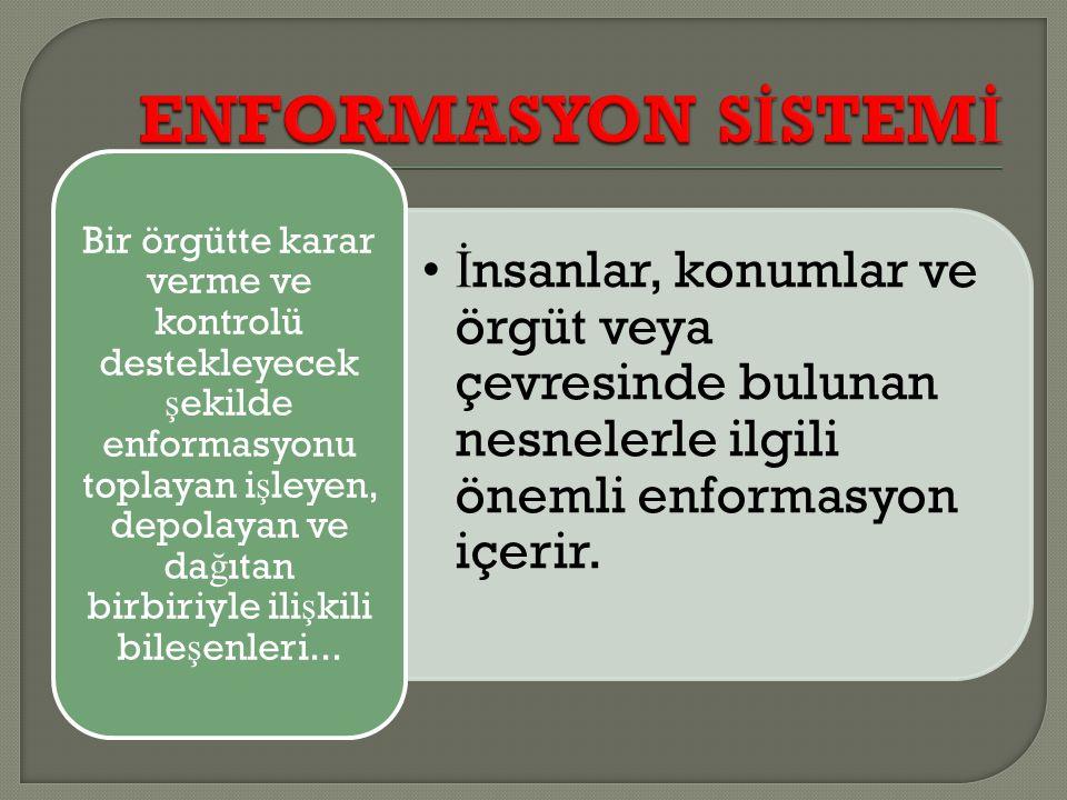 ENFORMASYON SİSTEMİ