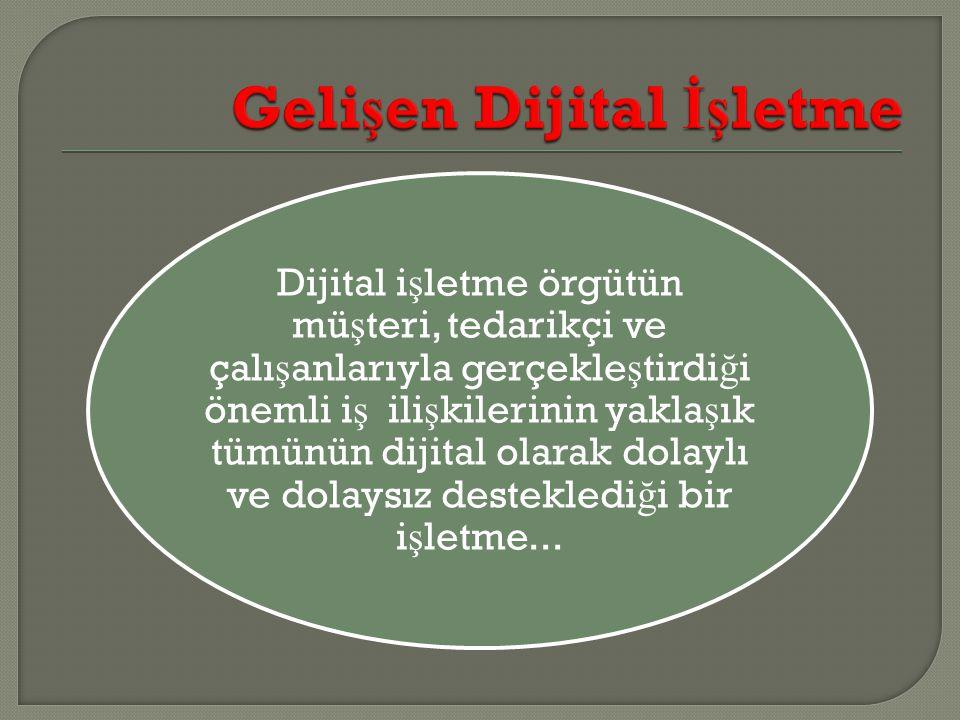Gelişen Dijital İşletme