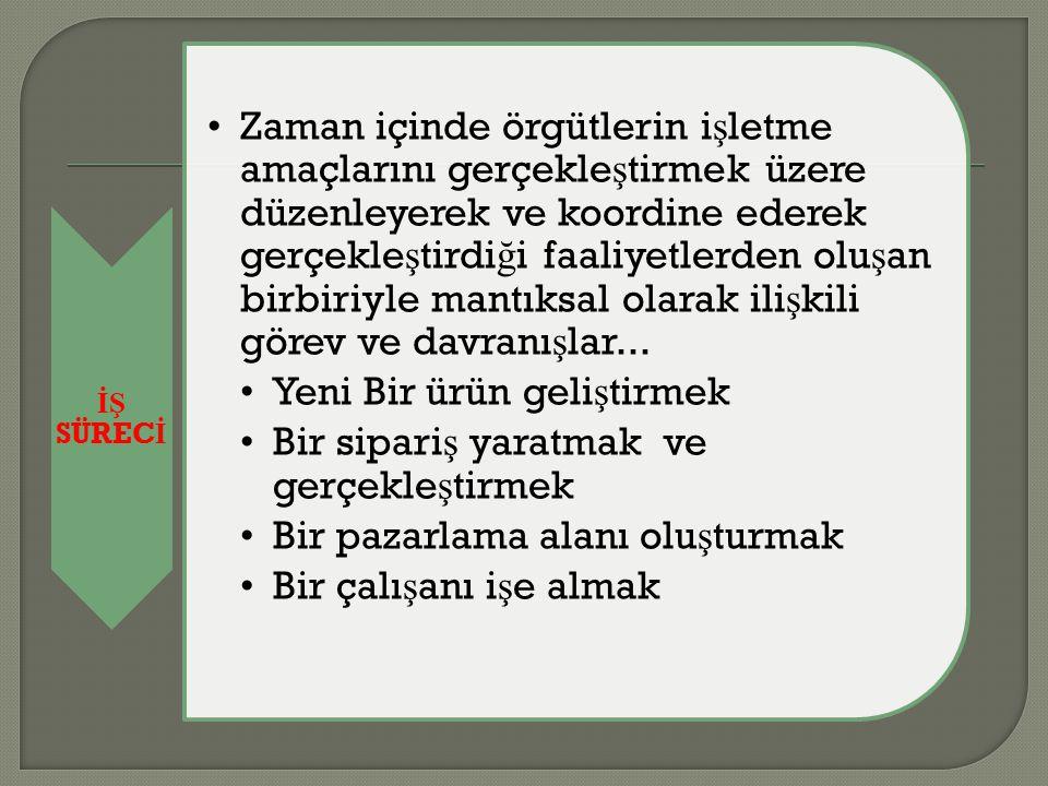 İŞ SÜRECİ