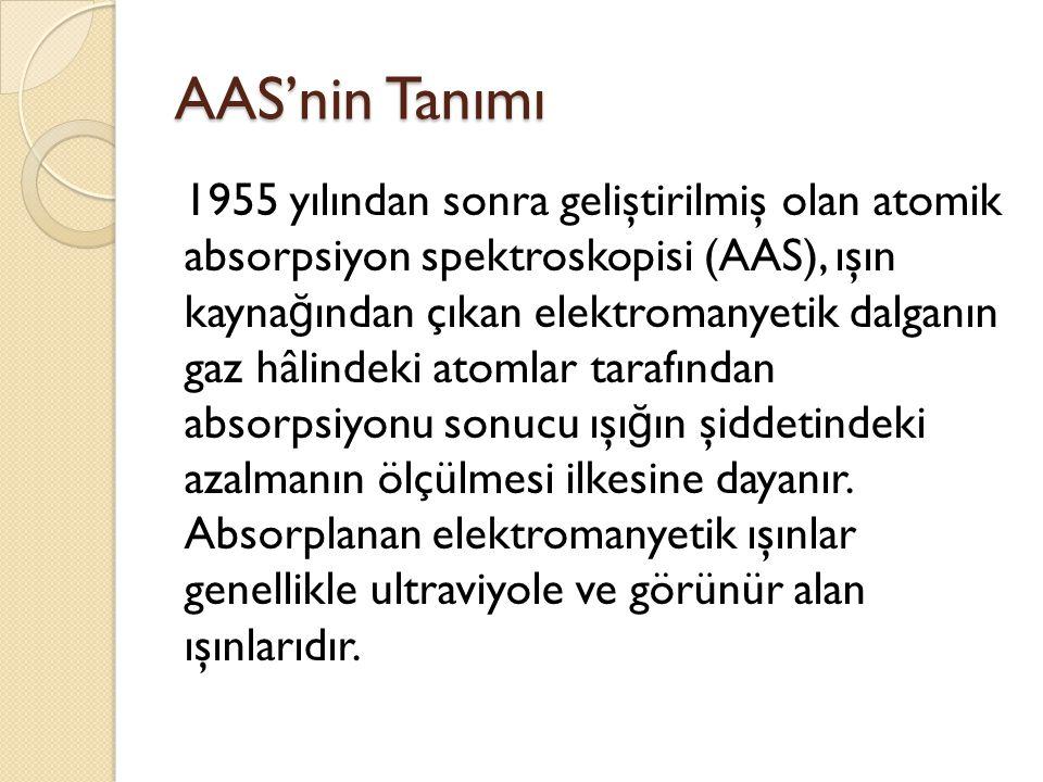 AAS'nin Tanımı