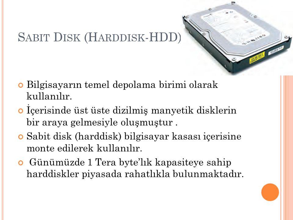 Sabit Disk (Harddisk-HDD)