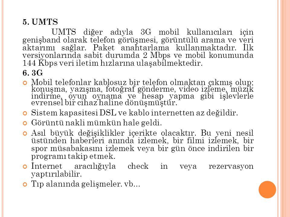 5. UMTS