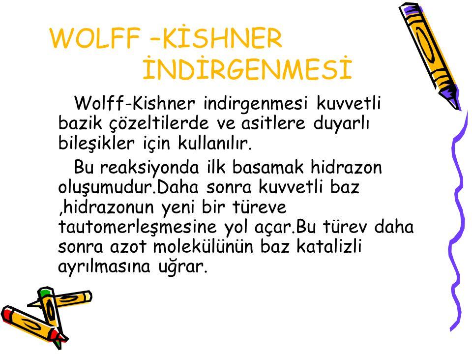 WOLFF –KİSHNER İNDİRGENMESİ