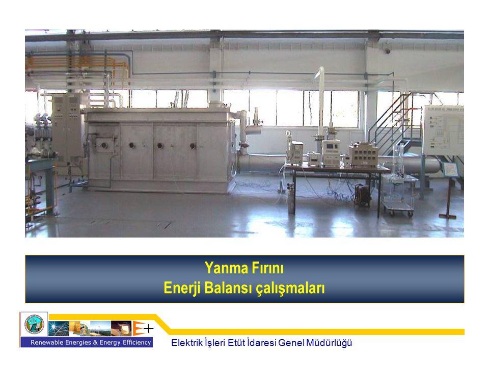 Enerji Balansı çalışmaları