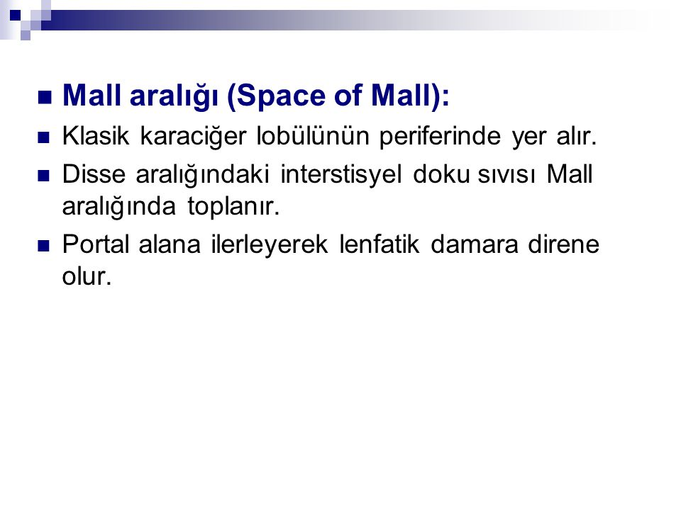 Mall aralığı (Space of Mall):