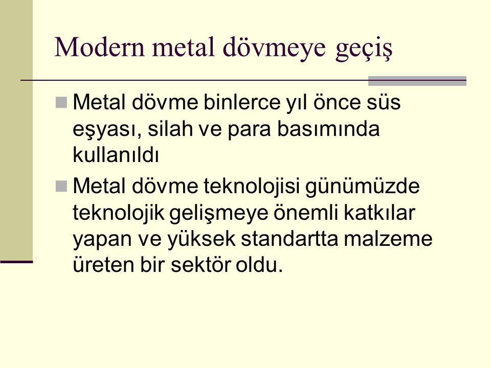 Modern metal dövmeye geçiş