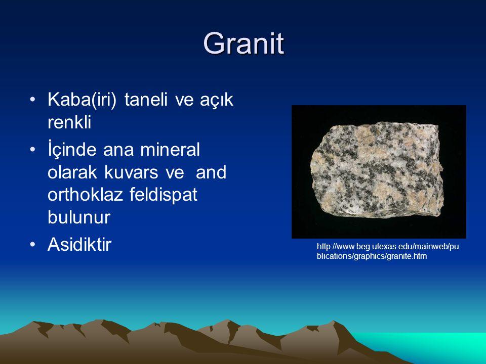 Granit Kaba(iri) taneli ve açık renkli