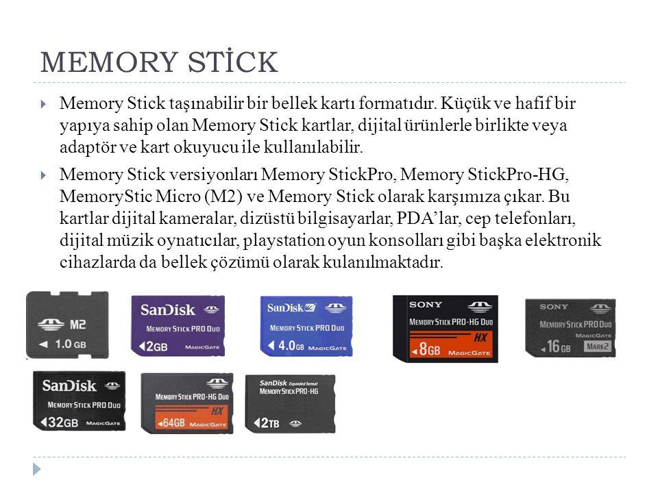 MEMORY STİCK