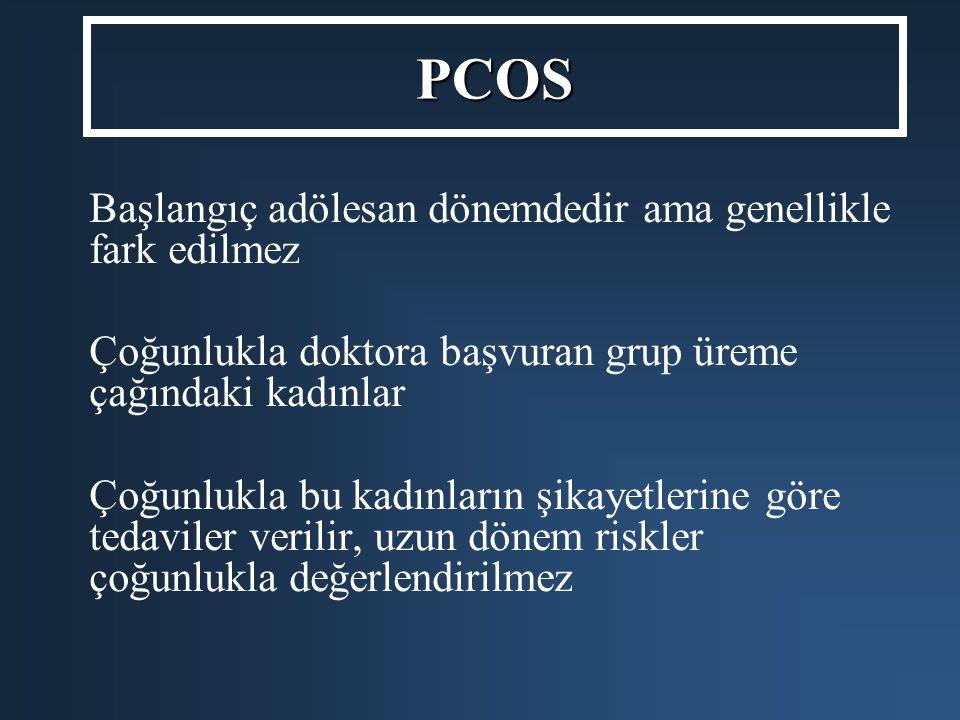 PCOS Başlangıç adölesan dönemdedir ama genellikle fark edilmez