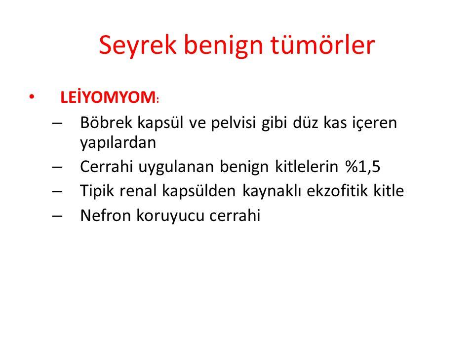 Seyrek benign tümörler
