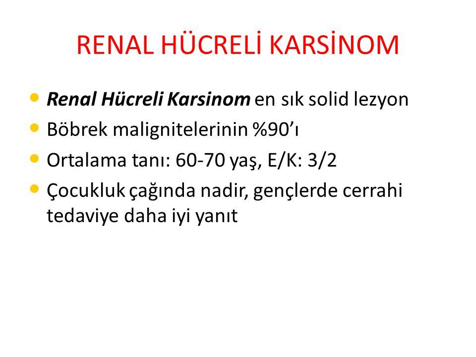 RENAL HÜCRELİ KARSİNOM