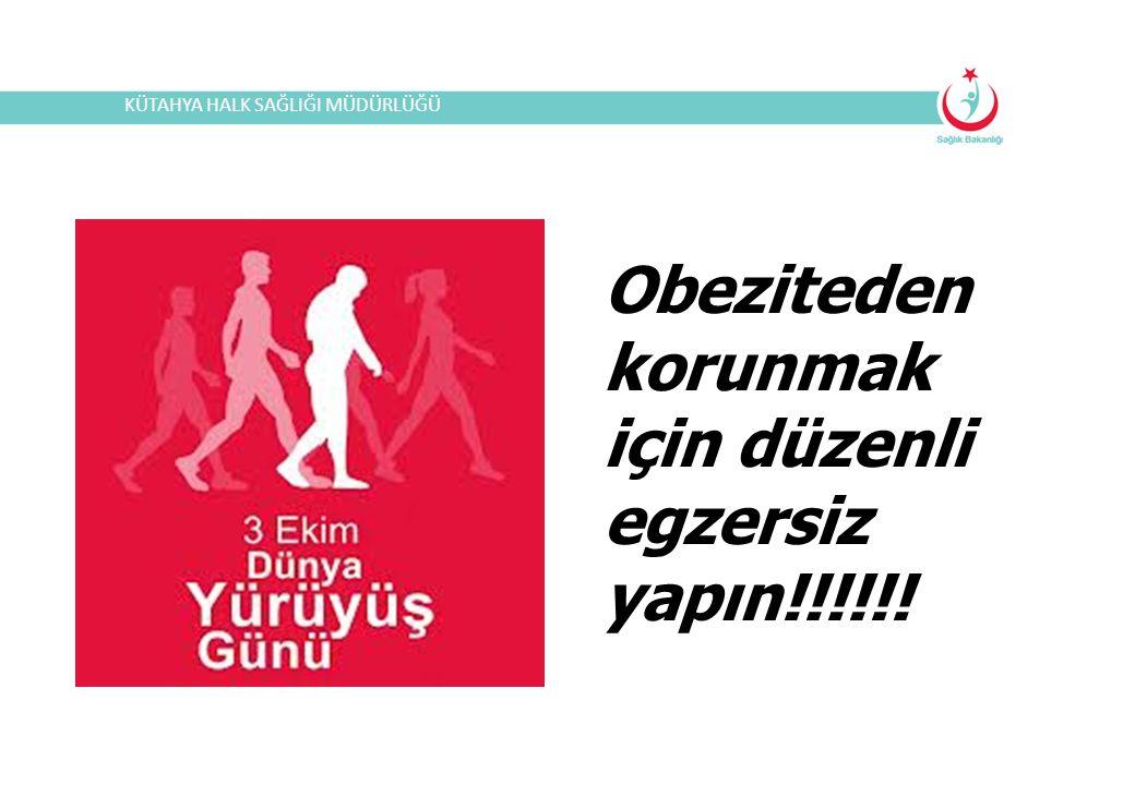 Obeziteden korunmak için düzenli egzersiz yapın!!!!!!