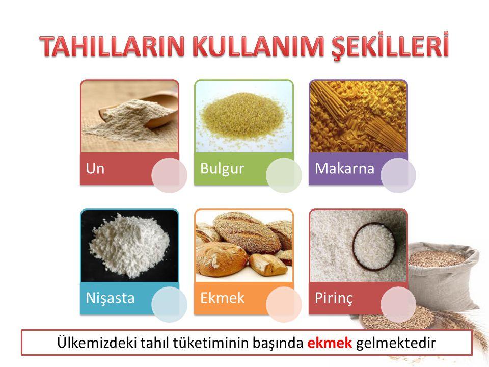 TAHILLARIN KULLANIM ŞEKİLLERİ