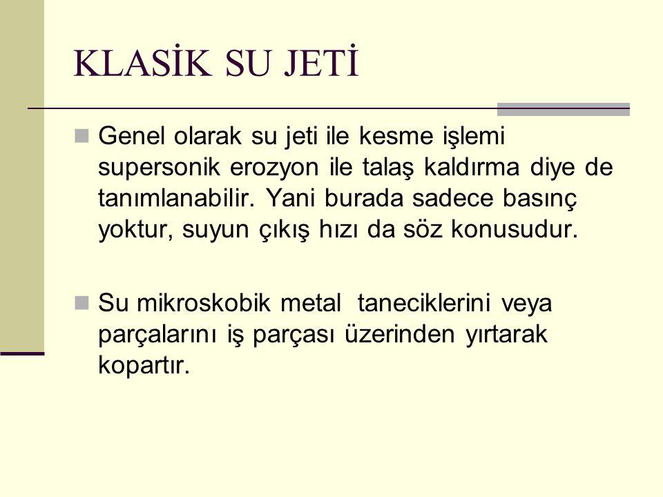 KLASİK SU JETİ